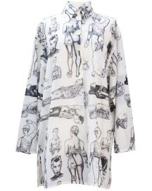 First Aid Print Shirtdress by Jean Paul Gaultier at Vestiaire Collective