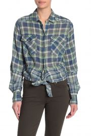 First Bloom Plaid Top at Nordstrom Rack