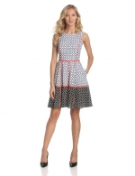 Fit and Flare dress by Jessica Simpson at Amazon