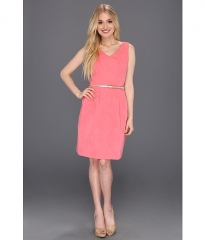 Fit and flare jacquard dress by Ellen Tracy at 6pm