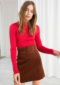Fitted Merino Wool Turtleneck at & Other Stories