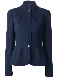 Fitted military jacket by Alexander McQueen at Farfetch