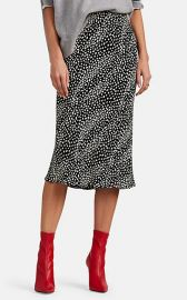 FiveSeventyFive Leopard-Print Skirt at Saks Fifth Avenue