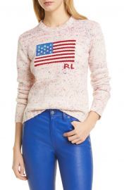 Flag Wool Sweater at Nordstrom