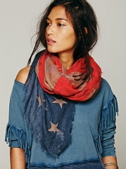 Flag scarf at Free People