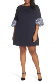 Flare Cuff Shift Dress by Eliza J at Nordstrom Rack