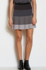 Flared Ombre Bandage Skirt by Armani Exchange at Amazon