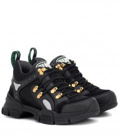 Flashtrek leather sneakers at Mytheresa