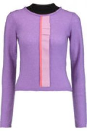 Fletcher ruffled cashmere silk and wool-blend sweater at The Outnet