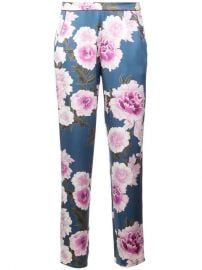 Fleur Du Mal Floral Pajama Trousers - Farfetch at Farfetch