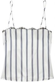 Fleur Du Mal Striped Camisole at The Outnet