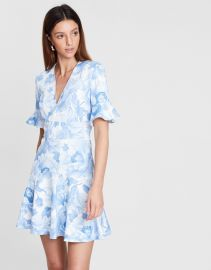 Fleur V Flip Dress by Lover at The Iconic