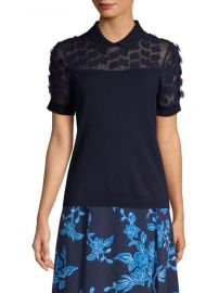 Fleurette Embellished Sweater  Draper James at Saks Fifth Avenue