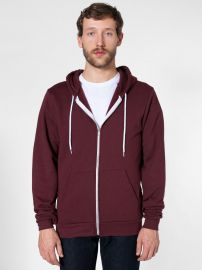 Flex fleece hoodie at American Apparel