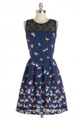 Flight of Fanciful Dress at ModCloth