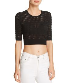 Float-Stitch Crop Top at Bloomingdales