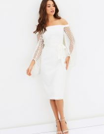 Floozy Sleeve Midi by Pasduchas at The Iconic