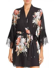 Flora Nikrooz Delphine Printed Kimono Robe Women - Bloomingdale s at Bloomingdales