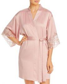 Flora Nikrooz Ada Charmeuse Kimono Robe Women - Bloomingdale s at Bloomingdales