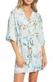 Flora Nikrooz Alison Floral Kimono Robe at Nordstrom