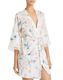 Flora Nikrooz Irene Floral Knit Cover-Up Robe Women - Bloomingdale s at Bloomingdales