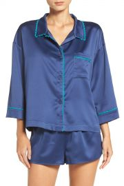 Flora by Flora Nikrooz   Wisteria Satin Pajamas   Nordstrom Rack at Nordstrom Rack