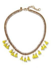 Floral Bell Necklace at Banana Republic