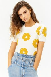 Floral Brushed Knit Top by Forever 21 at Forever 21