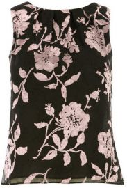 Floral Burnout Shell Top at Dorothy Perkins