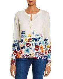 Floral Cashmere Cardigan by C by Bloomingdales at Bloomingdales