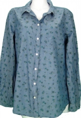 Floral Chambray Shirt at Old Navy