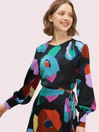 Floral Collage Blouse by Kate Spade at Kate Spade
