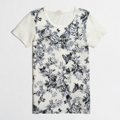 Floral Collector Tee at J. Crew Factory