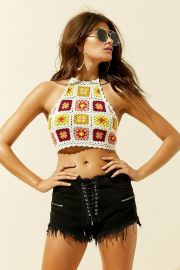 Floral Crochet Crop Top by Forever 21 at Forever 21
