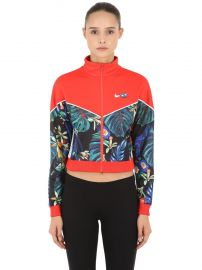 Floral Cropped Track Jacket by Nike at Luisaviaroma