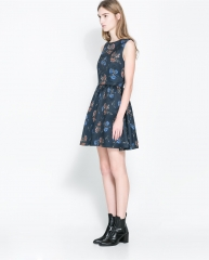 Floral Dress at Zara