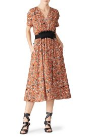 Floral Dress by Cedric Charlier at Rent The Runway