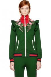 Floral Embroidered Jacket by Gucci at Gucci