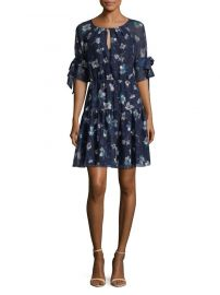 Floral Fit Flare Dress by Vince Camuto at Lord & Taylor