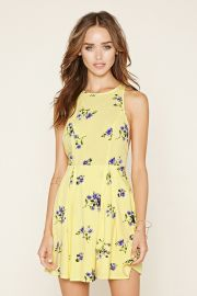 Floral Fit and Flare Dress  Forever 21 - 2000168775 at Forever 21