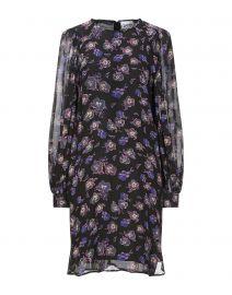 Floral Georgette Mini Dress by Ganni at Yoox