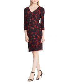 Floral Jersey Dress at Bloomingdales