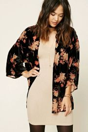 Floral Kimono at Forever 21
