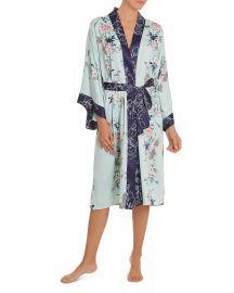 Floral Kimono Wrap Robe at Bloomingdales