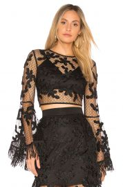 Floral Lace Crop Top by Endless Rose at Revolve