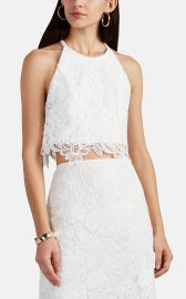 Floral Lace Crop Top by Manning Cartell at Barneys
