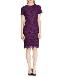 Floral Lace Dress at Bloomingdales