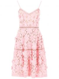 Floral Lace Dress at Italist