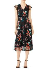 Floral Lace Dress by Hunter Bell at Rent The Runway