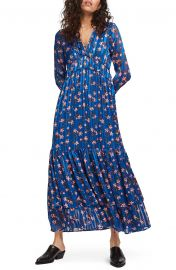 Floral Long Sleeve Maxi Dress at Nordstrom